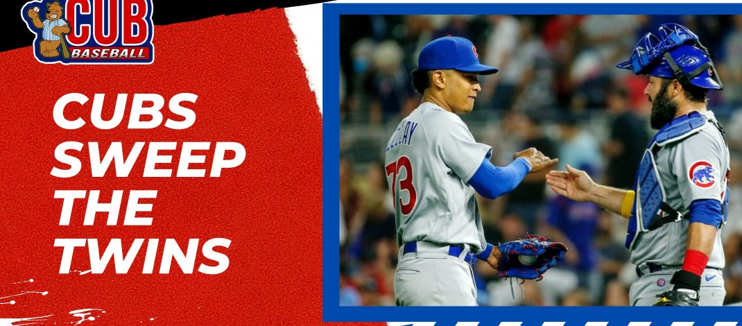 Cubs Sweep the Twins