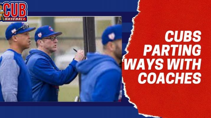 Cubs Parting Ways With Coaches (2)